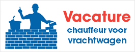 VACATURE: chauffeur